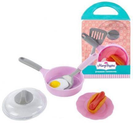 Набор посуды для готовки Mary Poppins Учимся готовить - Завтрак 453034 игра mary poppins набор готовки зайка 453071