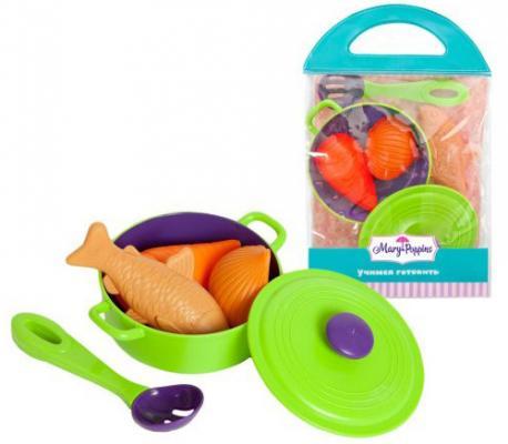 Набор посуды для готовки Mary Poppins Учимся готовить 453030 учимся готовить и украшать новогодние блюда