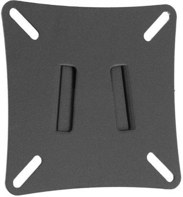 "Кронштейн Holder LCD-F1501-B черный для ЖК ТВ 10-26"" настенный от стены 21мм VESA 100x100 до 25 кг"