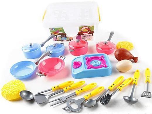 Набор посуды Shantou Gepai Kitchen, 19 предметов 606-1 набор посуды shantou gepai kitchen в тележке 6669 1