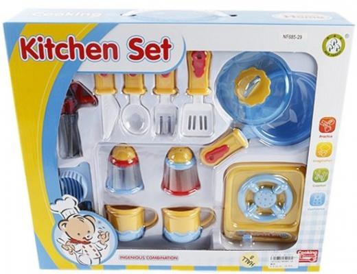 Набор посуды Shantou Gepai с плитой Медвежонок NF685-29 набор посуды shantou gepai с плитой медвежонок nf685 29