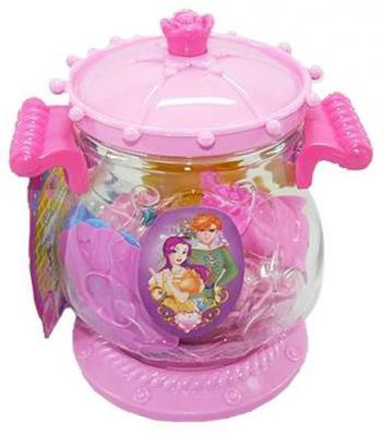 Набор посуды Shantou Gepai 3306B в баночке ecoiffier игрушечный набор сушилка для посуды