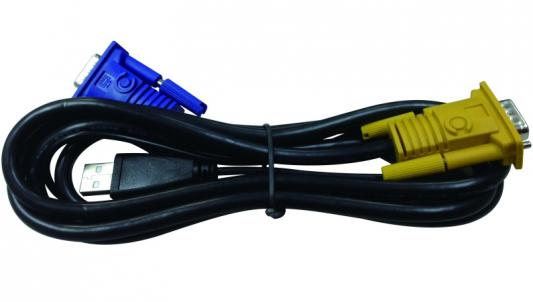 Кабель D-Link DKVM-IPVUCB/10 2 in 1 USB 1.8m 10шт