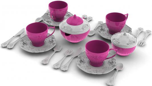 Набор посуды Нордпласт Волшебная Хозяюшка, 24 предмета Н-620 ролевые игры нордпласт набор волшебная хозяюшка 22 предмета в корзинке