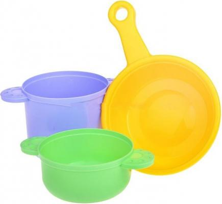 Набор посуды Игрушкин Посуда для повара 22151 набор игровой ecoiffier сушилка для посуды посуда 39 предметов