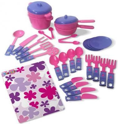 Набор посуды ZebraToys Обеденный 15-10037-2 набор обеденный esf b2219 pw072y