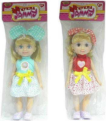 Кукла Shantou Gepai Джемми с бантиком 25 см в ассортименте M6292 кукла shantou gepai isabella невеста 17 см в ассортименте yl1603k c