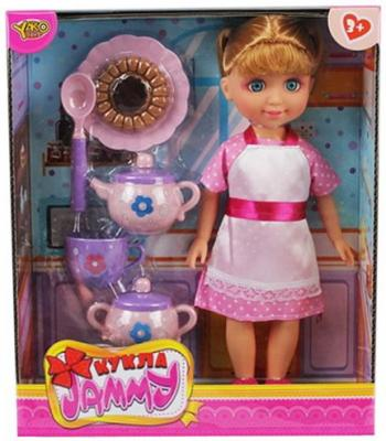 Кукла Shantou Gepai Джемми с набором посуды, кор.