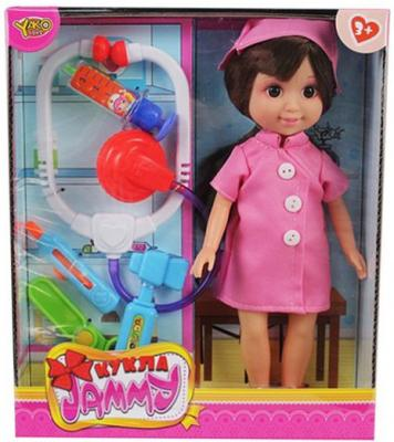 Кукла Shantou Gepai Джемми с набором доктора, кор.