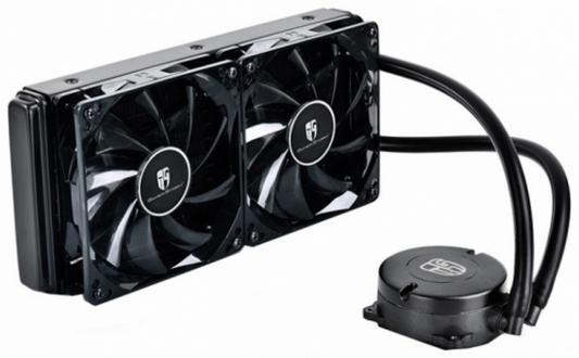 Водяное охлаждение Deepcool Maelstrom 240T Red Socket 1150/1155/1156/1366/2011/2011-3/AM2/AM2+/AM3/AM3+/FM1/FM2/FM2+ купить