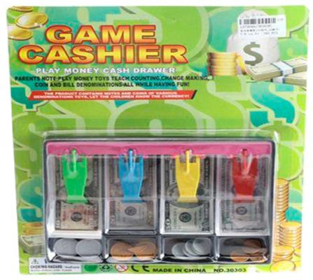 Лоток для денег Shantou Gepai Game Cashier №2 ассортимент 30303U