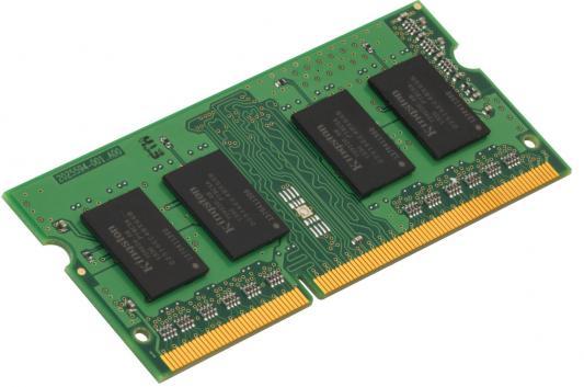 Оперативная память для ноутбуков SO-DDR4 4Gb PC19200 2400MHz Kingston KVR24S17S8/4 оперативная память для ноутбуков so ddr4 4gb pc19200 2400mhz qumo qum4s 4g2400c16