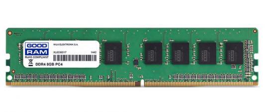 Оперативная память 8Gb PC4-19200 2400MHz DDR4 DIMM GoodRAM CL17 GR2400D464L17S/8G