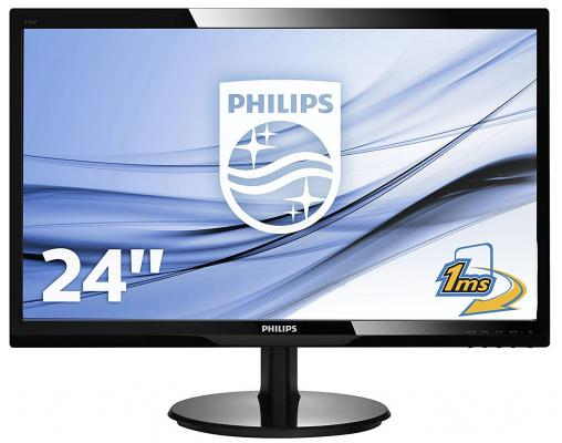 Монитор 24 Philips 246V5LDSB свитшот print bar metal is the new black