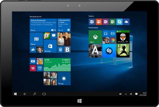 """Планшет Irbis TW74 10.1"""" 32Gb черный Wi-Fi Bluetooth Windows TW74"""