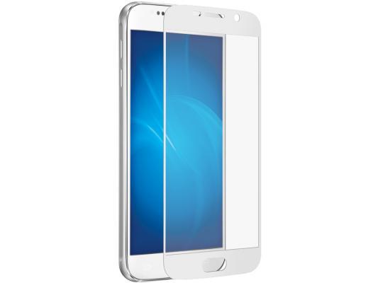 цена на Защитное стекло DF sColor-05 для Samsung Galaxy S7 3D с рамкой белый
