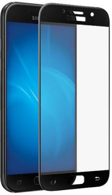 Защитное стекло DF sColor-15 для Samsung Galaxy A3 2017 с рамкой черный mp 277 10 touch panel 6av6643 0cd01 1ax1 for machine repair fast shipping
