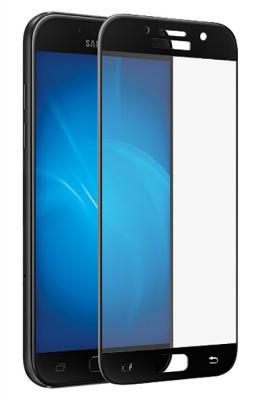 Защитное стекло DF sColor-16 для Samsung Galaxy A5 2017 с рамкой черный аксессуар закаленное стекло samsung galaxy a5 2017 df full screen scolor 16 pink