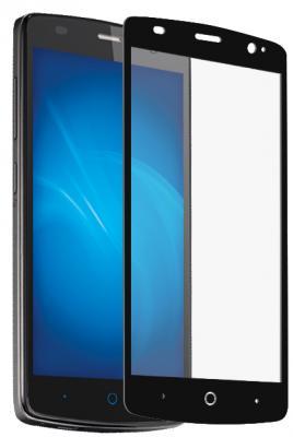 Защитное стекло DF zColor-06 для ZTE Blade L5 Plus с рамкой черный стоимость