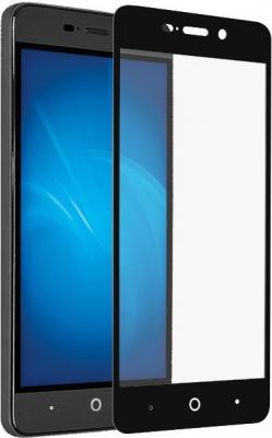 Защитное стекло DF zColor-08 для ZTE Blade X3 с рамкой черный защитное стекло df zcolor 05 для zte blade gf3 с рамкой черный
