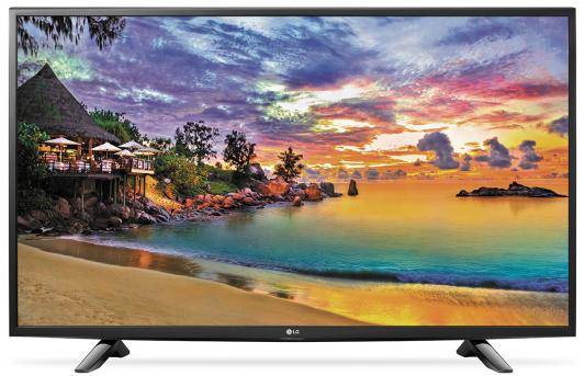Телевизор LG 49UH603V черный