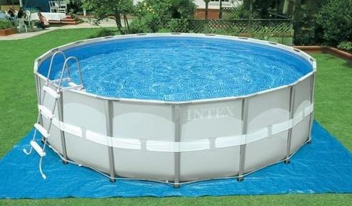 Каркасный бассейн INTEX Ultra frame Set 488х122 см