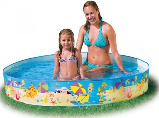 Каркасный бассейн INTEX Летние деньки
