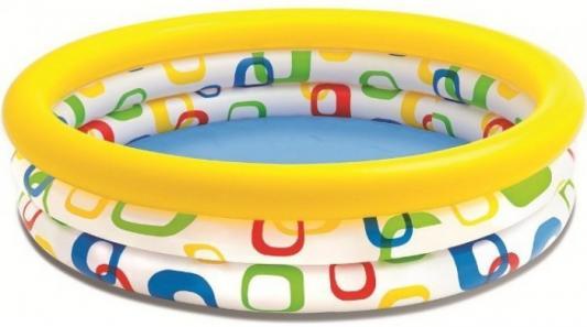 Надувной бассейн Intex Забавные мячики кровать comfort plush 152х203х56см со встроенным насосом 220в intex 64418