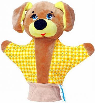 Кукла на руку МЯКИШИ Собачка 35 см  123