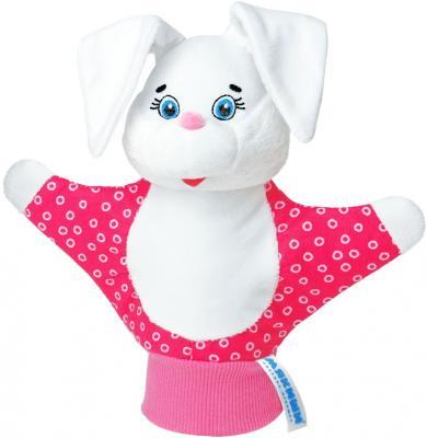 Кукла на руку МЯКИШИ Зайка 35 см