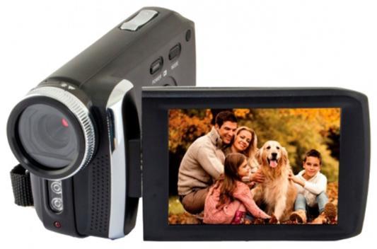 Цифровая видеокамера Rekam DVC-540 черный rekam dejaview sl101 цифровая фоторамка