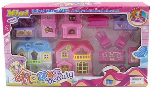Дом для кукол Shantou Gepai Домик с мебелью для кукол  017-2 дом для кукол shantou gepai cute house 13631a