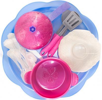Набор посуды Нордпласт Волшебная Хозяюшка 616 нордпласт игрушечный набор посуды кухонный сервиз волшебная хозяюшка цвет голубой зеленый