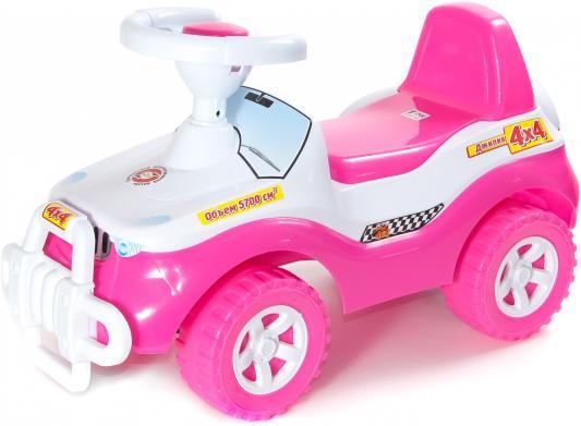 Каталка-машинка Orion Джипик 105_роз розовый от 2 лет каталка orion toys каталка джипик полиция 105 пол