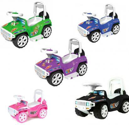 цена на Каталка-машинка Orion Ориончик - Джип пластик от 8 месяцев на колесах цвет в ассортименте 419_черн