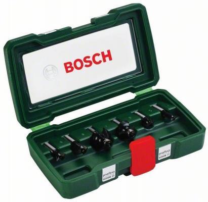 Подробнее о Набор фрез по дереву Bosch 6 НМ-SET 2607019463 набор фрез по дереву