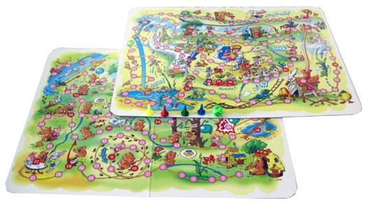 Настольная игра Десятое королевство ходилка Алиса в стране чудес,Винни-Пух 2 в 1