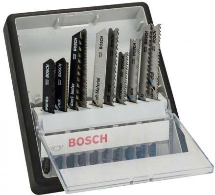 Картинка для Лобзиковая пилка Bosch ROBUST LINE 10 шт 2607010574