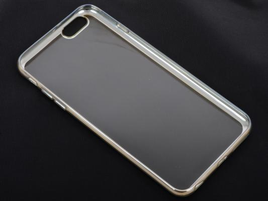 Накладка DF iCase-03 для iPhone 6S Plus iPhone 6 Plus серебристый