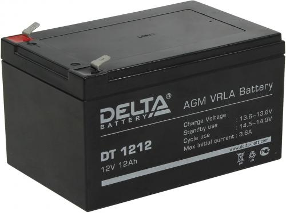 Батарея Delta DT 1212 12Ач 12В цены онлайн