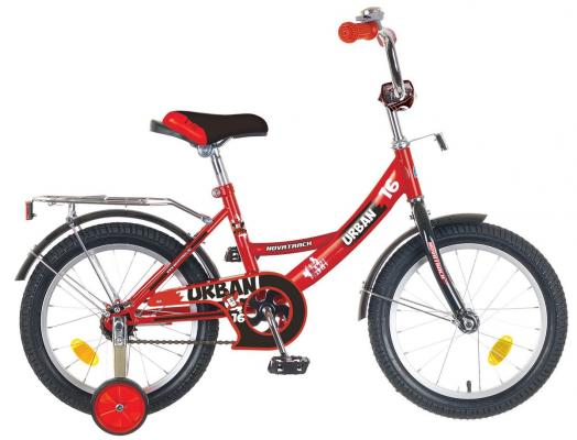 Велосипед Novatrack Urban 16 красный детский велосипед novatrack urban 16 red