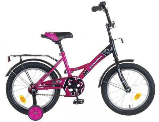 Велосипед Novatrack FR-10 16 фиолетовый детский велосипед novatrack fr 10 20 green