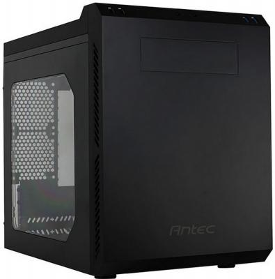 Корпус microATX ANTEC P50 Window Без БП чёрный 0-761345-81051-7 корпус corsair obsidian series 350d window cc 9011029 ww