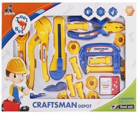 Набор инструментов Shantou Gepai Craftman Depot 17 предметов