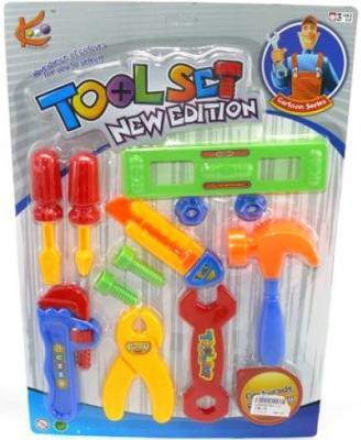 Набор инструментов Shantou Gepai 821-13 12 предметов игрушечные инструменты shantou gepai набор инструментов маленький мастер