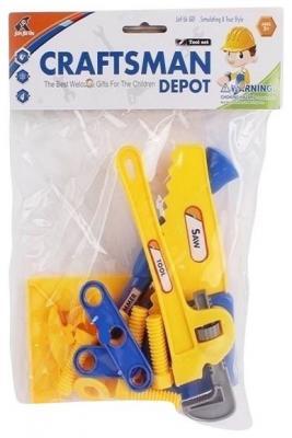 Набор инструментов Shantou Gepai Маленький мастер 21 предмет 6301-1 игрушечные инструменты shantou gepai набор инструментов маленький мастер