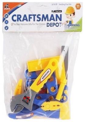 Набор инструментов Shantou Gepai Маленький мастер 25 предметов 6301-3 игрушечные инструменты shantou gepai набор инструментов маленький мастер