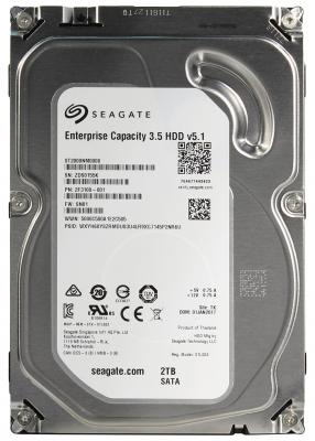 "Жесткий диск 3.5"" 2 Tb 7200rpm 128Mb cache Seagate Enterprise Capacity SATA III 6 Gb/s ST2000NM0008"
