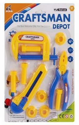 Набор инструментов Shantou Gepai Маленький мастер 6204-3 11 предметов игрушечные инструменты shantou gepai набор инструментов маленький мастер
