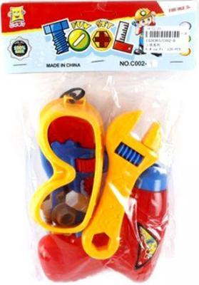 Набор инструментов Shantou Gepai C002-9 игрушечные инструменты shantou gepai набор инструментов маленький мастер